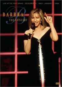 Cover Barbra Streisand - The Concert - Live At The MGM Grand [DVD]